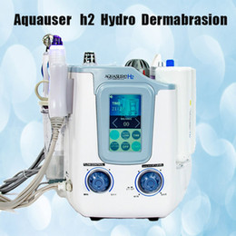hydrodermabrasion machines NZ - Hot Sale 3 in1 Hydrogen Hydra SPA facial microcurrent Galvanic hydrodermabrasion skin peeling anti aging machine