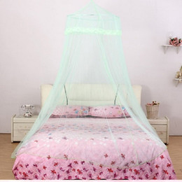 $enCountryForm.capitalKeyWord Australia - Romantic Princess Style Lace Lace Encryption Girl Heart Big Account Anti-mosquito Ceiling Palace Net Girl Room Decor Bed Tent
