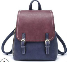 $enCountryForm.capitalKeyWord Australia - South Korea fashion retro lady backpack 2019 new versatile student youth backpack bag bag for a generation003