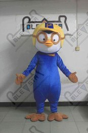 cartoon star picture Australia - pororo mascot costumes cartoon polite penguin mascot costumes custome blue penguin walking actor real pictures EVA POLE STAR MASCOT COSTUME
