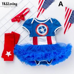 Baby Girls Wearing Tutu Skirt Australia - New newborn baby girl clothes Newborn Outfits 3pcs set tutu skirts baby romper+bows headband+ Baby Suit Infant Wear A3874
