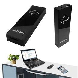 $enCountryForm.capitalKeyWord Australia - WiFi Disk Memory Storage Box Wi-Fi Cloud Storage Box Flash Drive for TF Micro SD Card Reader for File Sharing