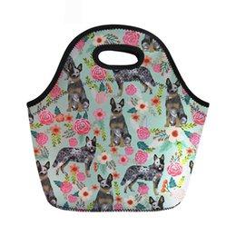 $enCountryForm.capitalKeyWord Australia - Insulated Thermal Bag For Kids Australian Cattle Dog Women Lunch Bags Picnic Sandwich Box Female Cooler Handbag Tote