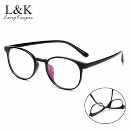 cd029f1638 Flexible Eyewear TR90 Glasses Frame Women Clear Fashion Trendy Round  Optical Spectacles No Degree Eyeglasses Reading Oculos