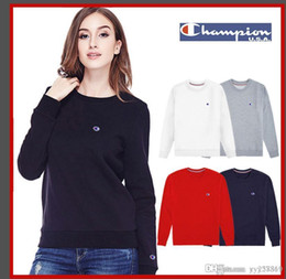 Product Brand Color Australia - Women's designer 2018 new product leading fashion autumn and winter brand women's letter printing fashion sweater women's str
