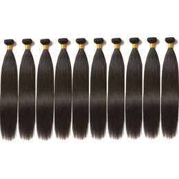$enCountryForm.capitalKeyWord Australia - 10A Mink Brazilian Virgin Hair 100% Unprocessed Straight Human Hair Weft Peuvian Virgin Hair 10 Bundles Cheapest Wholesale Price CAN BE DYED