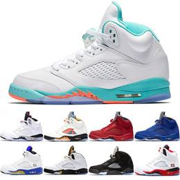 $enCountryForm.capitalKeyWord Australia - Light Aqua Laney 5 5s Men Women Basketball Shoes International Flight Fire Red Blue Suede White Cement Sport Sneaker Size 36-47 Sale Online