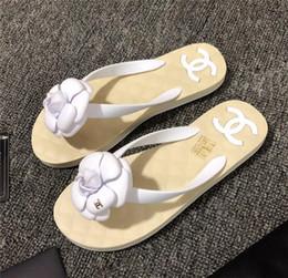 $enCountryForm.capitalKeyWord Australia - New Fashion Women's Casual sandals Leathe Beach shoes flip-flops sliipers woman peep toe sandals C15231