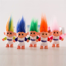 Hairy Hair online shopping - Hairy Boy Miss Marc Troll Doll Genius Dress Up Close Can Change Crazy Hair Dolls s Generation Nostalgia sr O1