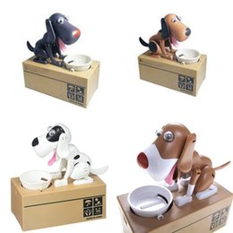 Wholesale Cute Dog Piggy Save Money Bank Saving Money Pot Coin Box Can Creative Gift New Fashion Dog Piggy Bank