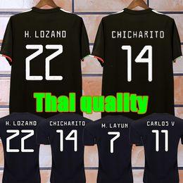 4a513050136 Top CHICHARITO jersey 2020 Camiseta Mexican football shirt CARLOS RAUL  M.LAYUN VELA H.LOZANO SOCCER JERSEY Thai Quality Maillot de foot