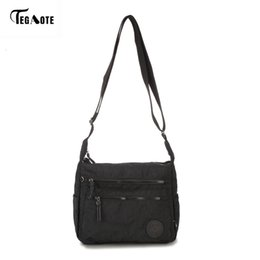 small waterproof tote bag Australia - TEGAOTE Waterproof Nylon Women Messenger Bags Small Purse Shoulder Bag Female Crossbody Bags Handbags High Quality Bolsa Tote CJ191129