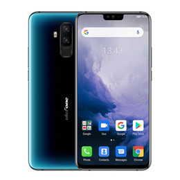 Ulefone T2 6.7'' FHD+ Screen Smartphone Helio P70 Android 9.0 6GB 128GB 4200mAh Fingerprint Face ID NFC Dual 4G Mobile Phone on Sale