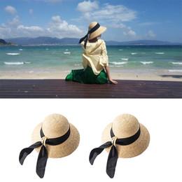 $enCountryForm.capitalKeyWord Australia - Sun Hats for Women Wide Brim Floppy Straw Hat Summer Bohemia Ladies Sun Hats Beach Cap