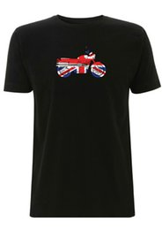 british tees Australia - union jack British triumph t shirt bike bonneville motorbike tshirt uk pride t shirt men Unisex Fashion top tees