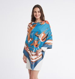 $enCountryForm.capitalKeyWord Australia - Europe and the United States big horses field blue autumn and winter new silk scarf female twill silk high-grade scarf