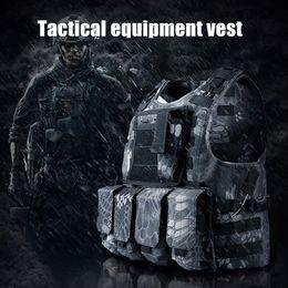Black tactical vests online shopping - Adventure Fan Supplies Field Tactical Vest Special Forces Vest Combat Real People Protective Gear Colors