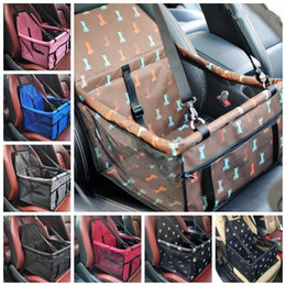 Bags Carry Puppies Australia - Pet Dog Carrier Car Seat Pad Safe Carry House Cat Puppy Bag Car Travel Accessories Waterproof Dog Seat Bag Basket Pet Products