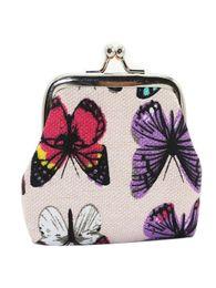 Woman Wallets Butterfly Australia - Women's wallet Womens Butterfly Small Wallet Mini bag Card Holder Coin Purse Clutch Bag Handbag Billetera mujer Coin Purse