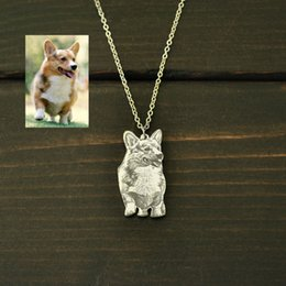 Dog Memorial Gifts Australia - Pendant s Personalized Dog Photo Necklace,Your Photo Necklace,