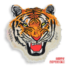 $enCountryForm.capitalKeyWord Australia - embroidery cool emblem tiger patches for jackets,tiger badges appliques for jeans,GJ0461