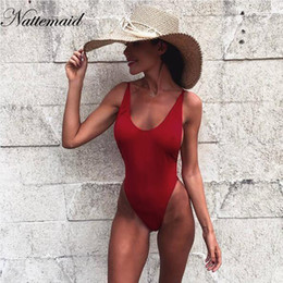 Green Jumpsuit Black Woman Australia - NATTEMAID Sexy bodysuit 2019 summer Red backless elastic women jumpsuit rompers Casual Ladies Solid color bodycon beach wear Y190424