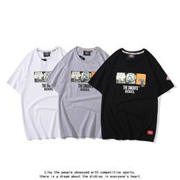$enCountryForm.capitalKeyWord Australia - Dickies tshirt trendy mens designer tshirts new Smurfs printing t-shirt brand boutique cosy t-shirts men women wild casual t shirt tees ss