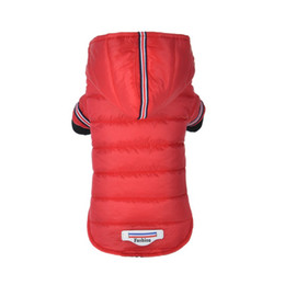 China Winter Pet Dog Clothes Warm Down Jacket Waterproof Coat Hoodies for Chihuahua Small Medium Dogs Puppy Best Sale XS-XL cheap xl dog coats wholesale suppliers