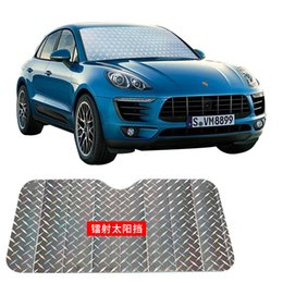 Sun Visor Automobile Front Cross Country Sunshading Board Thickening Laser Sunscreen Heat Insulation Sunshade Hot Selling 9kz p1 on Sale