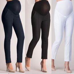 $enCountryForm.capitalKeyWord Australia - Maternity Women Pants Elastic Belly Protection Maternity Pregnant Leggings Pants Trousers Pencil Pregnancy