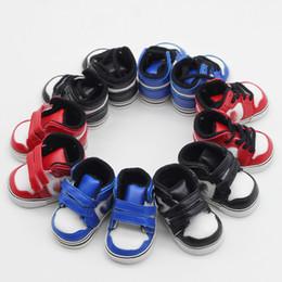 $enCountryForm.capitalKeyWord Australia - 5*2.8cm Doll Shoes for KPOP EXO Dolls Toy Boots 1 6 Sneakers for 14inch Doll 20cm Korea Plush Dolls Accessory Toys