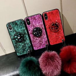 drop proof phone 2019 - Wholesale Phone Case Designer for Iphone11 11Pro 11ProMax Fashion XSMAX XR X XS 7P 8P Case with Hairball Creative Drop-p