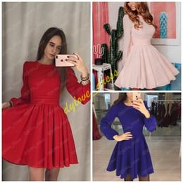 24fb8fcad66c 2019 sexy elegant evening gowns red vestidos de fiesta formal dress long  sleeve short arabic black girl african plus size prom dresses
