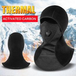 $enCountryForm.capitalKeyWord Australia - Motorcycle New Motorcycle Mask Balaclava Winter Thermal Fleece Face Shield Skull Face Mask Moto Ski Biker With Active Carbon Filters