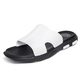 $enCountryForm.capitalKeyWord Australia - 2019 Excellent Quality Summer Platform Men Shoes Flat Heels Mens Wear-Resist Leisure Slippers Mans Swim Pool Outside Loafers