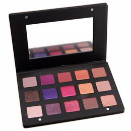 $enCountryForm.capitalKeyWord NZ - Pretty Vulgar Eye Makeup Pressed Powder High Pigment 15 Shades Lila Eyeshadow Palette 15 x 2.5g