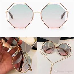 $enCountryForm.capitalKeyWord Australia - New fashion popular sunglasses irregular frame with special design lens legs wearing pendants removable woman favorite type top quality 132
