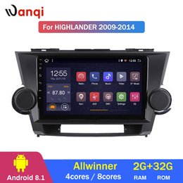 Gps For Toyota Highlander Australia - 2G RAM 32G ROM Car Radio Stereo Multimedia GPS Navigation Player for Toyota highlander 2009-2014 Android 8.1