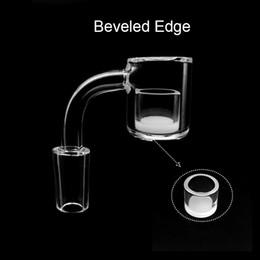 $enCountryForm.capitalKeyWord Australia - Beracky Scientific Joint 3mm 25mmOD Beveled Edge Quartz Banger with Opaque Inserts 10mm 14mm 18mm 45 90 Quartz Nails For Glass Water Bongs