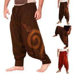 $enCountryForm.capitalKeyWord NZ - Pants Men Ethnic Printed Overalls Casual Pocket Sport Yoga Trouser Work Casual Trousers Pant Mens Sweatpants pantalones hombre