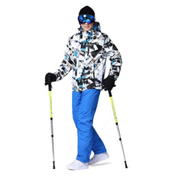Ski Suits Australia - Ski Suit Men Winter New Outdoor Windproof Waterproof Thermal Snow Jacket And Pants Clothes Skiing And Snowboarding Suits 3XL