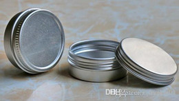 Cream jars 5g online shopping - 5g g Empty Aluminum Cosmetic Cream Tin Jars container packing for Soap Packing e cig wax