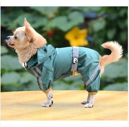 Wholesale red lightweight jacket resale online – Hot Sales Wholesales Dog Pet Apparel Clothes Waterproof Lightweight Raincoat Rain Jacket Poncho