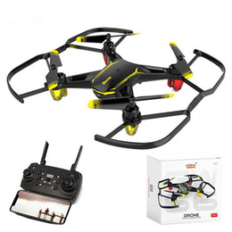 $enCountryForm.capitalKeyWord Australia - Drones with Camera Cheap RC Helicopters Delicate compact 480P Mini Drone Quadrocopter FPV Remote Control Dron Toys for Boys