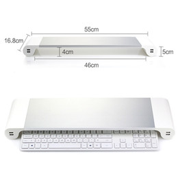 Monitor stand laptop computer base aluminum alloy heightened stand USB charging stand Computer Accessories dhl free on Sale