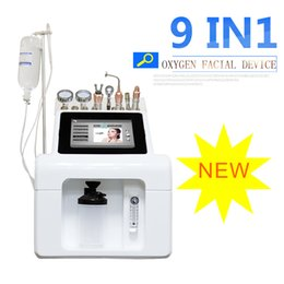 bio pen Australia - 2020 Newest 9 in 1 Photon Therapy Vacuum Suction Pen BIO Face Lift Oxygen Facial Machine