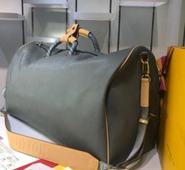 $enCountryForm.capitalKeyWord NZ - 2019 l designer Travel bag Men keepall 50 v brand leather crossbody bag luxury totes For men wmen canvas bag Duffel Bags handbag