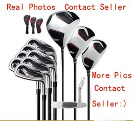 Golf club iron headcovers online shopping - Fast Shipping Full Set Golf Clubs M M4 G Complete Set Golf Driver Fairway Woods Golf Irons Golf Putter Headcovers