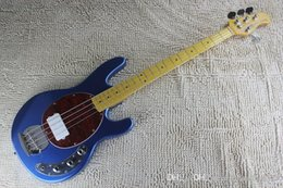 Best Bass guitars online shopping - Best High Quality Music Man Strings Electric Bass guitar with active pickups V battery guitar