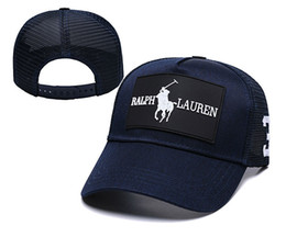 b6acb9ad96 Letter Logos UK - Adjustable Polo Hat Visors Sunhat Brand Logo Golf Ball  Hats Bone Snapback
